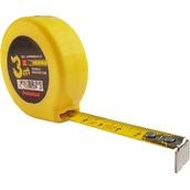 Metraje 7808 Flexómetro bolsillo 3 m x 13 mm con cinta de acero con doble lacado