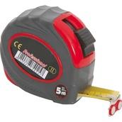 Metraje 7809 Flexómetro magnético y freno 5m x 19mm con cinta de acero con doble lacado