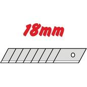 Metraje 7813 Hojas de recambio cutter 18mm