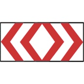 Paneles direccionales TB 640/TB-3 Panel direccional doble alto 195x95cm