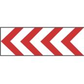 Paneles direccionales TB 645/TB-2 Panel direccional estrecho 165x45cm