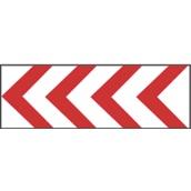 Paneles direccionales TB 655/TB-2 Panel direccional estrecho 145x45cm