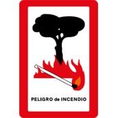 Otras señales de indicación S-900 Pelígro de incendio
