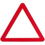 Señales MOPU Acero Señal MOPU acero triangular Señales de advertencia de peligro