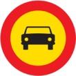 TR-103 Entrada prohibida a vehículos de motor, excepto motociclos de dos ruedas