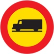 TR-106 Entrada prohibida a vehículos destinados al transporte de mercancías
