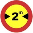 TR-204 Limitación de anchura