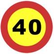 TR-301 Velocidad máxima