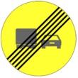 TR-503 Fin de prohibición de adelantamiento para camiones