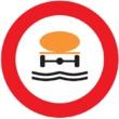 R-110 Entrada prohibida a vehículos que transporten productos contaminantes del agua
