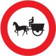 R-113 Entrada prohibida a vehículos de tracción animal