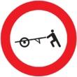 R-115 Entrada prohibida a carros de mano