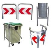 Protectores de mobiliario urbano