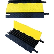 Protectores para cables 1072c Protector pasacables 5 canales. 912x505x50mm