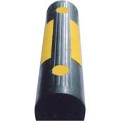Topes de parking y rampas salvabordillos 5010a Tope de caucho para parking de 60x15x11,5cm
