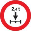 R-202 Limitación de peso por eje