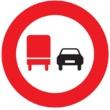 R-306 Adelantamiento prohibido para camiones