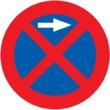 R-307a Parada y estacionamiento prohibido a la derecha