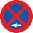 R-307b Parada y estacionamiento prohibido a la izquierda