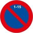 R-308c Estacionamiento prohibido la primera quincena