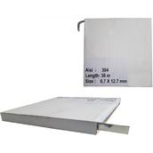 Soportes, abrazaderas y desplazadores para señales 433202 Rollo fleje de 12,7x0,7mm. y 30ml.
