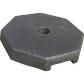 Trípodes y soportes para señales provisionales 8020-7K Base de caucho para poste de Ø60mm