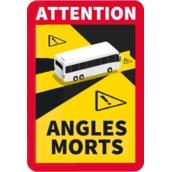 Señales ANGLES MORTS (FRANCIA)  Señal Angles Morts de 170x250mm Autobús