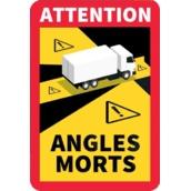Señales ANGLES MORTS (FRANCIA)  Señal Angles Morts de 170x250mm Camiones