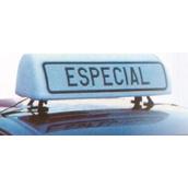 Placas indicadoras y de transporte 593A V21 Cartel avisador vehículo especial