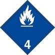MP14 Peligros de Clase 4.3 Materiales que al contacto con el agua, desprenden Gases Inflamables