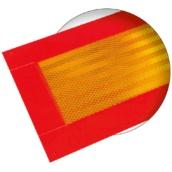 V6 Placa reflectante para señalización vehículo largo